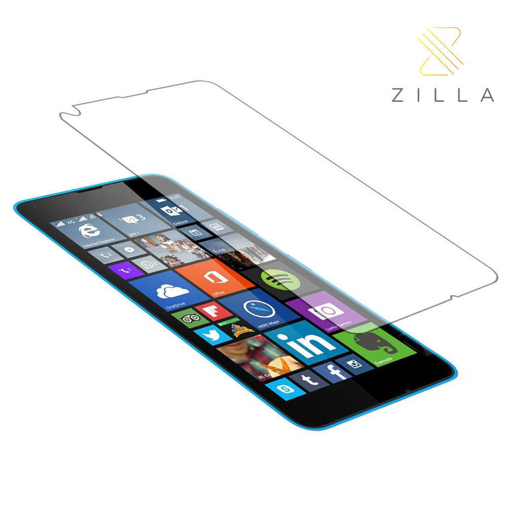 Zilla 2.5D Tempered Glass Curved Edge Protection Screen 0.26mm for Nokia .