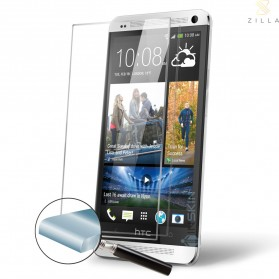 Zilla 2.5D Tempered Glass Curved Edge 9H for HTC One M7
