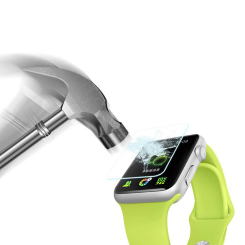 Zilla 2.5D Tempered Glass Curved Edge 9H for Apple Watch 42mm Series .