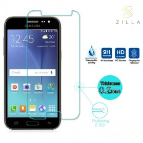 Zilla 2.5D Tempered Glass Curved Edge 9H 0.26mm for Samsung Galaxy J2 2015