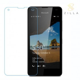 Zilla 2.5D Tempered Glass Curved Edge 9H 0.26mm for Nokia Lumia 550