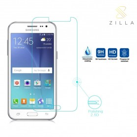 Zilla 2.5D Tempered Glass Curved Edge 9H 0.26mm for Samsung Galaxy J3 2016 - 1