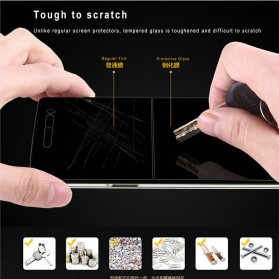 Zilla 2.5D Tempered Glass Curved Edge 9H 0.33mm for Oppo Find 5 X909 - 4