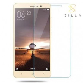 Zilla 2.5D Tempered Glass Curved Edge 9H 0.26mm for Xiaomi Redmi 3/3s - Transparent