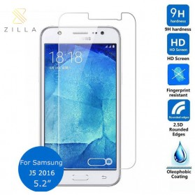 Zilla 2.5D Tempered Glass Curved Edge 9H 0.26mm for Samsung Galaxy J5 2016
