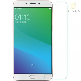 Zilla 2.5D Tempered Glass Curved Edge 9H 0.26mm for Oppo R9 Plus