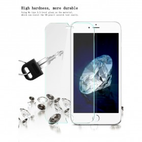 Zilla 2.5D Tempered Glass Curved Edge 9H 0.26mm for iPhone 7 - Transparent - 5