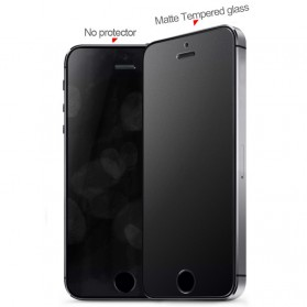 Zilla 2.5D Matte Tempered Glass Curved Edge 9H for iPhone SE/5/5s/5c - 2