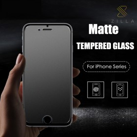 Zilla 2.5D Matte Tempered Glass Curved Edge 9H for iPhone 6/6s
