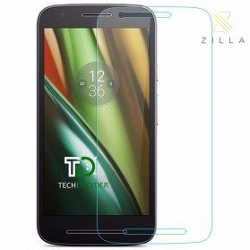 Zilla 2.5D Tempered Glass Curved Edge 9H 0.26mm for Motorola Moto E3 Power
