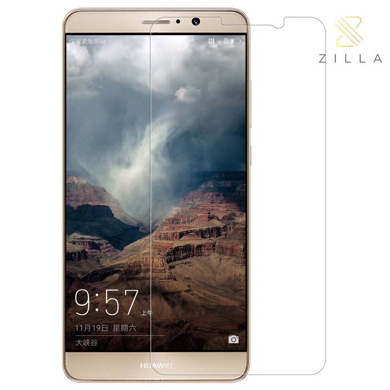 Zilla 2.5D Tempered Glass Curved Edge Protection Screen 0.26mm for Huawei .