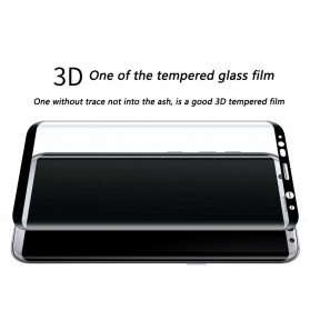 Zilla 3D Premium Tempered Glass Curved Edge 9H 0.26mm for Samsung Galaxy S8 - Black - 5