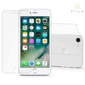 Zilla 2.5D Tempered Glass Curved Edge 9H Front+Back for iPhone 7/8 Plus