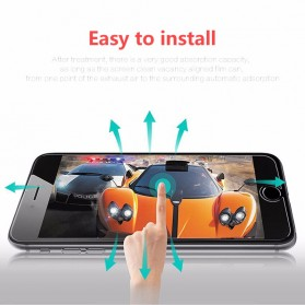 Zilla 2.5D Tempered Glass Curved Edge 9H Front+Back for iPhone 7/8 Plus - 6