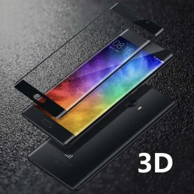 Zilla 3D Tempered Glass Curved Edge 9H 0.26mm for Xiaomi Mi Note 2 - Transparent - 3