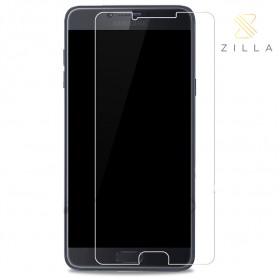Zilla 2.5D Tempered Glass Curved Edge 9H 0.26mm for Samsung Galaxy C7 Pro - Transparent