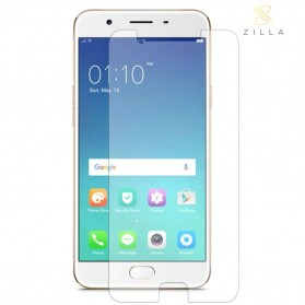 Zilla 2.5D Tempered Glass Curved Edge 9H 0.26mm for OPPO A57 - Transparent