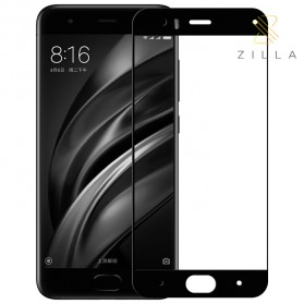 Zilla 2.5D Carbon Fiber Tempered Glass 9H 0.26mm for Xiaomi Mi6