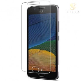 Zilla 2.5D Tempered Glass Curved Edge 9H 0.26mm for Motorola Moto G5 - 1