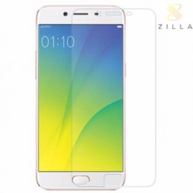 Zilla 2.5D Tempered Glass Curved Edge 9H 0.26mm for OPPO R9s - Transparent - 1
