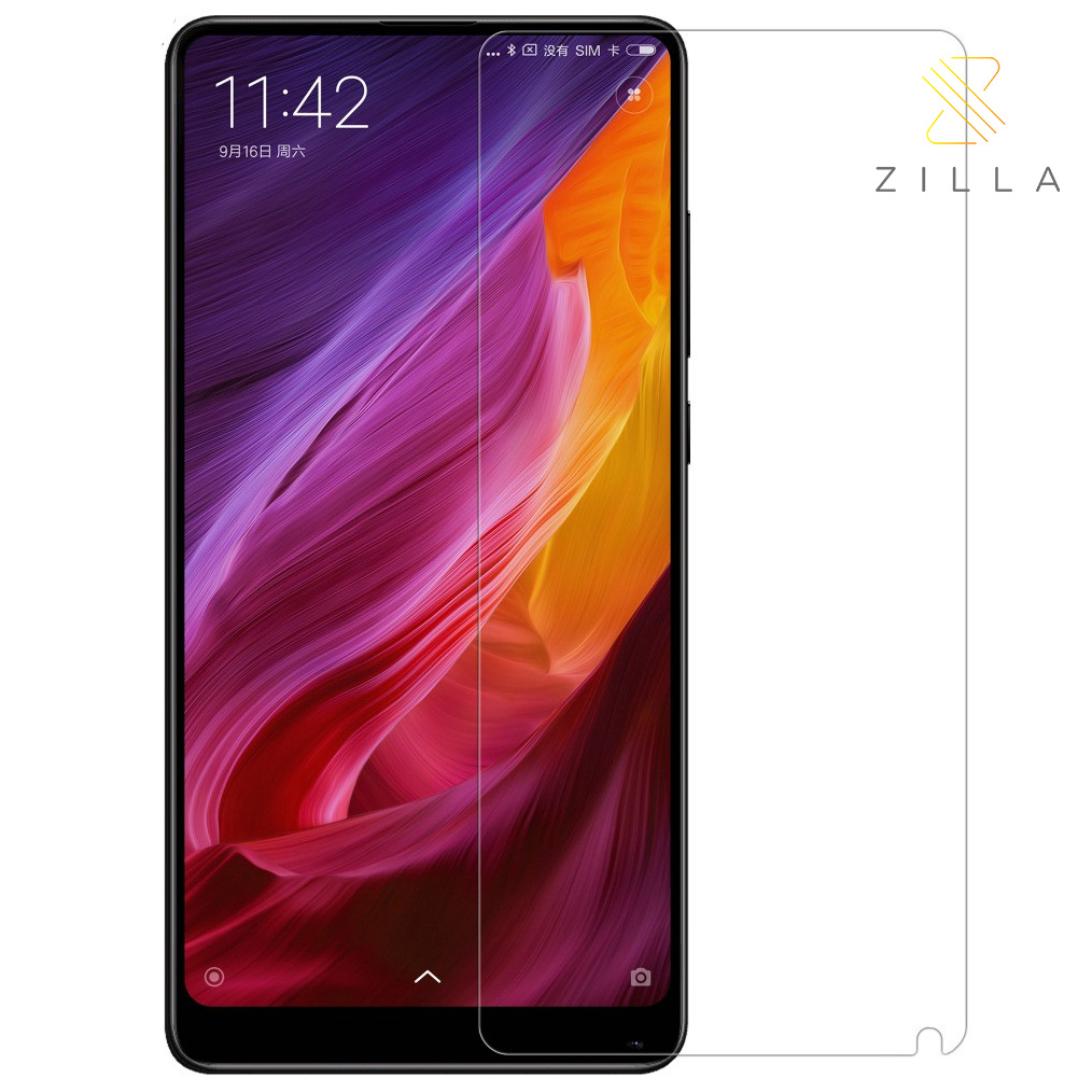 Zilla 25d Tempered Glass Curved Edge 9h 026mm For Xiaomi Mi Mix 2 Anti Spy Protection Screen Iphone 6 6s