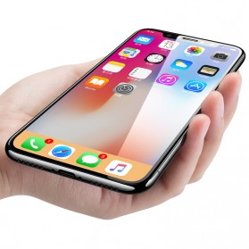 Zilla Full Cover Tempered Glass 9H 0.26mm for iPhone X/XS - Black - 2