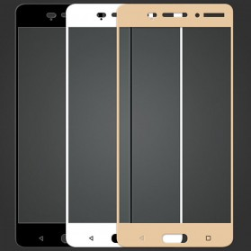 Zilla 2.5D Tempered Glass Curved Edge 9H 0.26mm for Nokia 6 - Black - 4