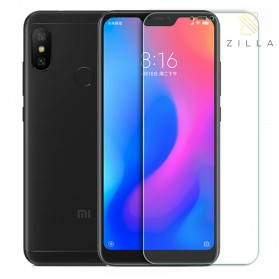 Zilla 2.5D Tempered Glass Curved Edge 9H 0.26mm for Xiaomi Redmi 6 Pro / A2 Lite