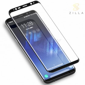 Zilla 5D Full Cover Tempered Glass Curved Edge 9H 0.26mm for Samsung Galaxy Note 9 - Black