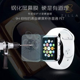 Zilla 2.5D Tempered Glass Curved Edge 9H for Apple Watch 44mm Series 4