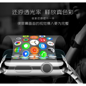 Zilla 2.5D Tempered Glass Curved Edge 9H for Apple Watch 44mm Series 4 - 3