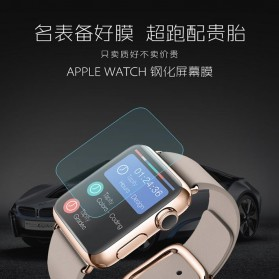Zilla 2.5D Tempered Glass Curved Edge 9H for Apple Watch 40mm Series 4 - 4