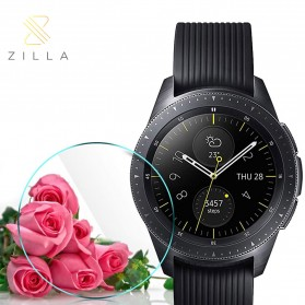 Zilla 2.5D Tempered Glass Curved Edge 9H for Samsung Gear S2 - Transparent