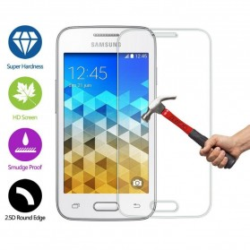 Zilla 2.5D Tempered Glass Curved Edge 9H 0.26mm for Samsung Galaxy Grand 2 / i7106 - 3