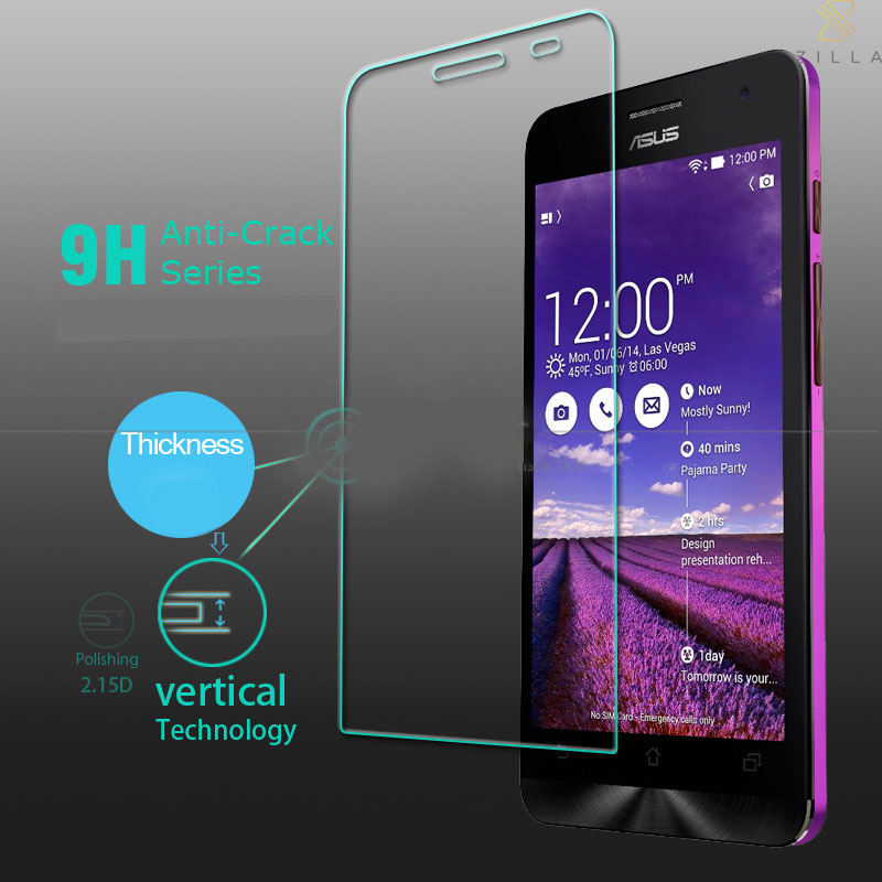 Zilla 25D Tempered Glass Curved Edge 9H 026mm For ASUS
