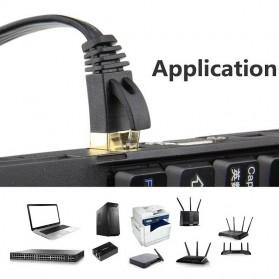 Kabel Ethernet LAN Network RJ45 Cat7 10 Meter - NW107 - Black - 8
