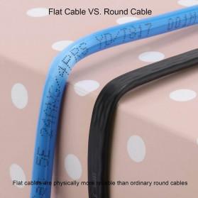 Kabel Ethernet LAN Network RJ45 Cat7 10 Meter - NW107 - Black - 9