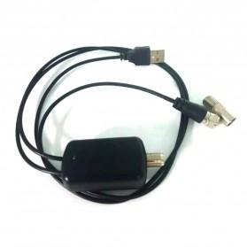 Powstro Antena TV Digital DVB-T2 High Gain 25dB with Amplifier - TFL-D143 - Black - 6