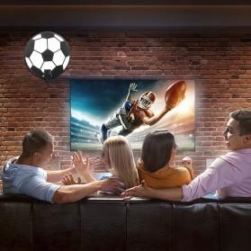 Powstro Antena TV Digital DVB-T2 High Gain 25dB with Amplifier - TFL-D143 - Black - 9