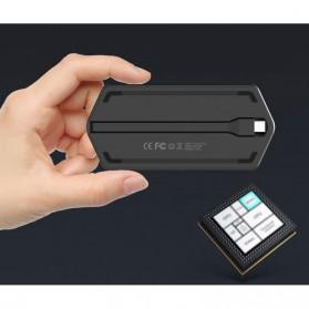 EASYA USB Type C to HDMI + VGA + Card Reader + USB Hub + PD Charge - C24 - Black - 5
