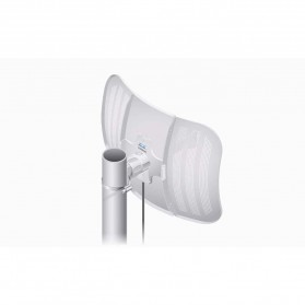 Ubiquiti LiteBeam M5 Long-Range Lightweight airMAX CPE High-Gain Directional Antenna 23dBi - LBE-M5-23 - White - 7
