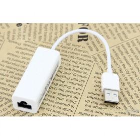 Noosy USB 2.0 Ethernet Adapter / LAN Adapter - White - 2