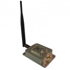Signal Booster / Penguat Sinyal WiFi - KexTech Wifi Signal Booster 5W 802.11B/G/N - KX-A5W - Silver