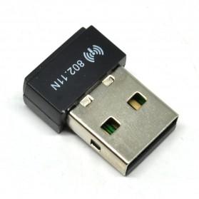 KexTech USB Wireless Adapter 150Mbps (Realtek RTL8188EUS) - WUL150 - Black - 2