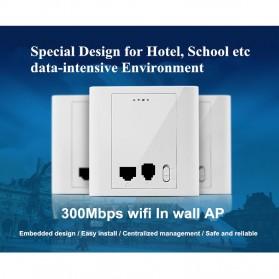 KexTech Management Wireless Access Point 300Mbps - KX-AP702B - White - 3
