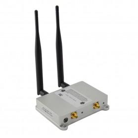 KexTech Wifi Signal Booster 5W 2.4GHz 802.11B/G/N - KX-B5W - Silver