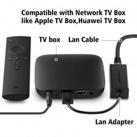 UGreen USB 3.0 to RJ45 Ethernet LAN Adapter - 20256 - Black - 5