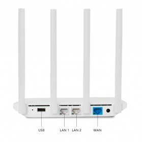 Xiaomi WiFi 3 Wireless Router 802.11ac 128MB with 4 Antennas - White - 4