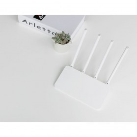 Xiaomi WiFi 3C Wireless Router 802.11ac 300Mbps with 4 Antennas - White - 4
