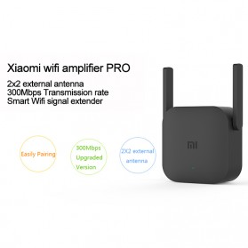 Xiaomi Pro WiFi Amplify Range Extender Repeater 300Mbps - R03 - Black - 6